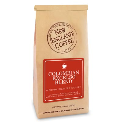 Bag of Colombian Excelso Blend Coffee