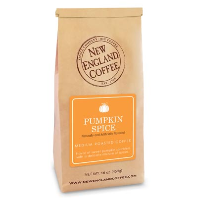 Bag of Pumpkin Spice Flavored Coffee