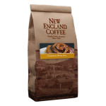 Packaging image for New England Coffee's Cinnamon Sticky Bun flavored coffee
