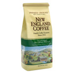 Packaging image for New England Coffee's Decaffeinated Breakfast Blend flavored coffee