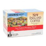 Box of single serve breakfast blend coffee