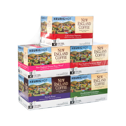 New England Coffee Keurig single serve cups