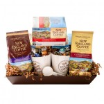 New England Coffee Flavor Basket