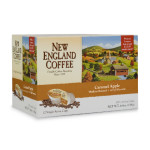 New England Coffee Seasonal Flavors Caramel Apple Single Serve