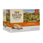 New England Coffee Seasonal Flavors Pumpkin Spice Single Serve