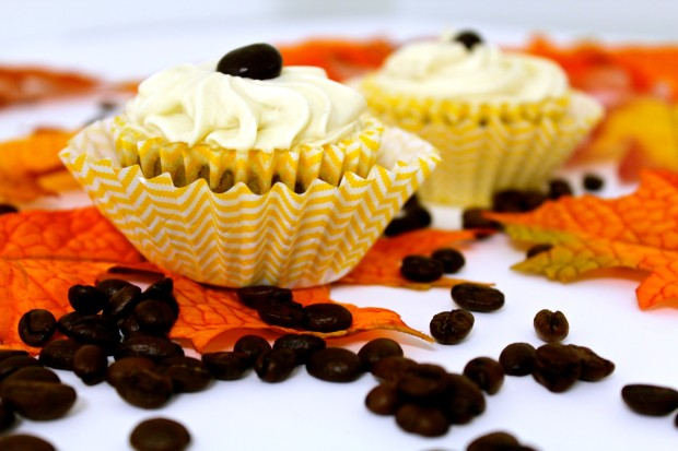 New England Coffee Pumpkin Spice Cupcakes
