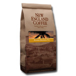 Packaging image for New England Coffee's Hawaiian Macadamia Nut flavored coffee