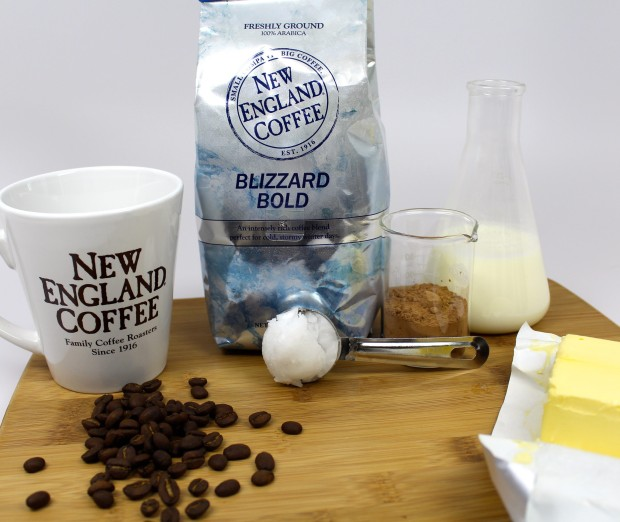 New England Coffee Buttered Coffee Ingredients