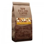 Packaging image for New England Coffee's White Chocolate Chip flavored coffee