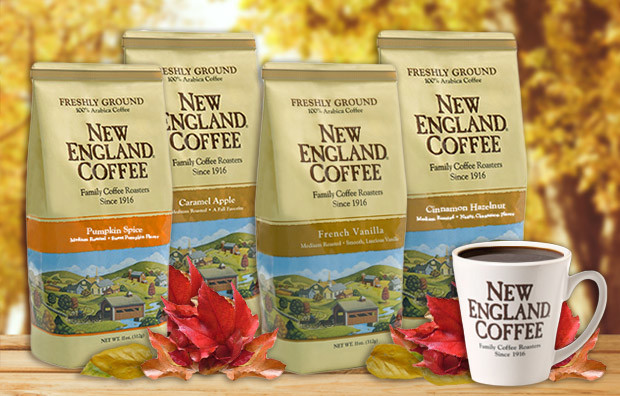 NEC fall coffee flavors
